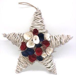 Star Wood Curl Wreath